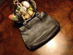 PRADA leather stunning bag