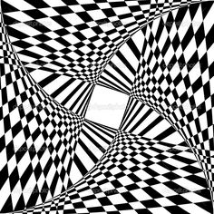 Optical Illusion Hard Coloring Pages for Older Kids - Enjoy Coloring