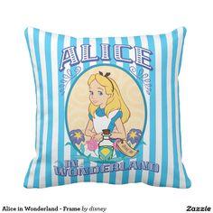 Alice in Wonderland - Frame Pillow
