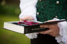Rings hidden in a book!