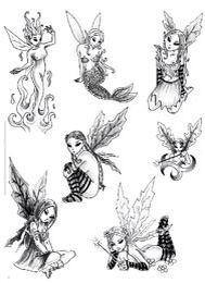 Elf Tattoo auf Pinterest | Feen Tattoo