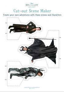 New free Maleficent printable activity sheets | http://www.hispanaglobal.net/new-free-maleficent-printable-activity-sheets/