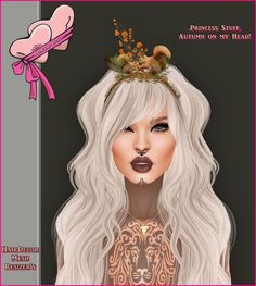 549d766cbeb1  Autmn on my Head   Gift   wear me  ♥ 1 Hairband Decor ♥ Mesh ♥ Resizer  Skripts ♥ For Mesh and Classic Avat.