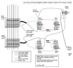 Gibson 335 Wiring Diagram together with Tele 3 Way Wire Diagram together with Wiring Diagram For Two Pickup Guitar further Wiring Diagrams For Guitars further Emg Telecaster Wiring Diagram. on les paul 3 pickup wiring schematic