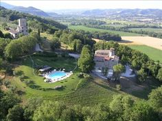 Perugia Vacation Rental - VRBO 46339 - 8 BR Umbria Apartment in Italy, Medieval Tower Apartments in Huge Estate Near Perugia & Tuscany