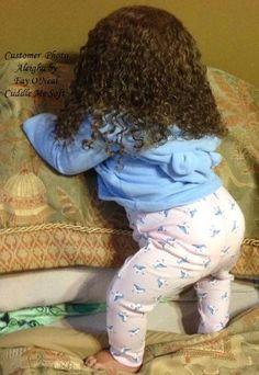 Aleigha - Biracial Reborn Toddler For Sale Arianna by Reva Schick