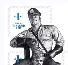 Finland's Halpa-Halli department store chain is refusing to sell commemorative TOM OF FINLAND stamps because they are not compatible with the management's Christian beliefs