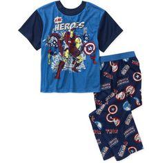 Iron Man Boy's 2-Piece Short-Sleeve Pajama Set Target - $15 ...