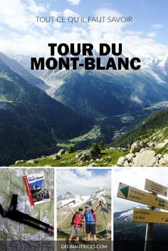 Le Tour du Mont-Blanc est le trek le plus emprunt dEurope. Hiking Tours, Backpacking Europe, Travel Tours, Travel Destinations, Mont Blanc Hike, Chamonix Mont Blanc, Trekking, Voyage Europe, Destination Voyage