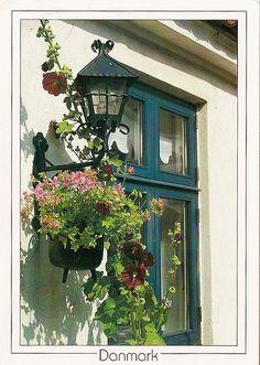Window trim in Denmark
