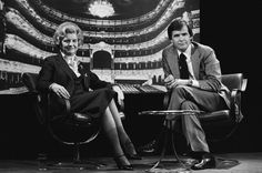 Betty Ford and Tom Brokaw pose for the camera before beginning their 1977 interview. Tom Brokaw, Betty Ford, Pose For The Camera, Toms, Interview, Concert, Lady, Fictional Characters, Concerts