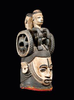 инвалид ебучий сука, мразь недоделанная, уродец вонючка  Igbo Mask, Nigeria.