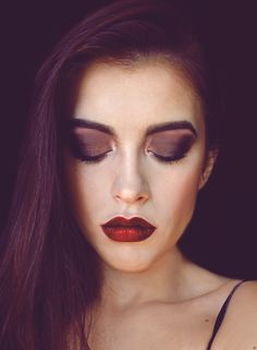 make up wykonany przeze mnie z resztek cieni i odrobiny photoshop'a;)