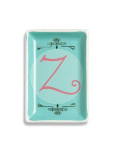 Alphabet Studio Z Tray - Gilt Home