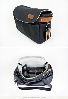 THE ANY BAG CAMERA BAG INSERT -- I so need one of these!!! via www.creaturecomfortsblog.com