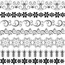 Resultado de imagem para bordas em preto e branco
