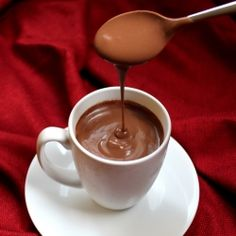Decadently Thick Italian Hot Chocolate. Delight your tastebuds this winter!