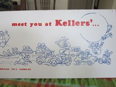 The menu from Kellers', designed and drawn by my mom. My Mom, Menu, Design, Decor, Basement, Menu Board Design, Decoration, Dekoration, Inredning