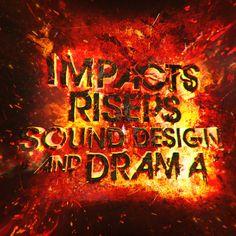 De Wolfe Music. Album artwork by DOSEprod. 'Impacts, Risers, Sound Design and Drama'