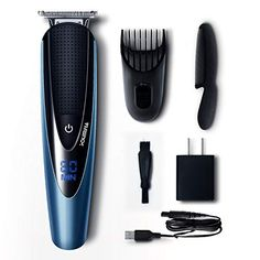 Men's Beard Trimmer, Cordless Beard Trimmer, Nose Hair Trimmer, Trimmer For Men, Best Beard Care Products, How To Trim Mustache, Trimming Your Beard, New Hair Growth