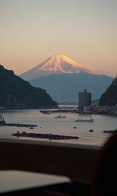 Mt Fuji ...
