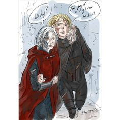 Manon and Aelin TOGS BY: Sarah J. Maas