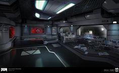 ArtStation - DOOM - Vega Central Processing, Emerson Tung