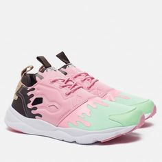 adf5d52ac9c REEBOK FURYLITE IC MINT GREEN LIGHT PINK DARK BROWN ICE CREAM BD3166