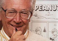 Charles Shultz, Creator or Peanuts (Charlie Brown)
