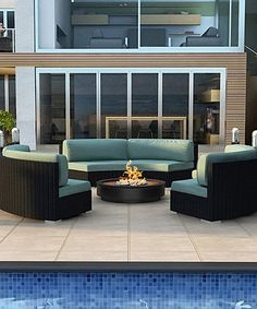 Love this Spa Three-Piece All-Weather Urbana Eclipse Sectional Set on #zulily! #zulilyfinds