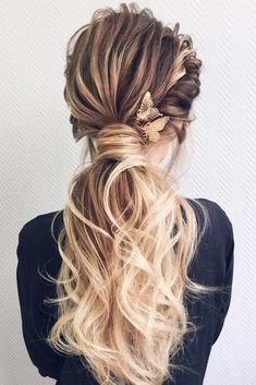 We all know that the time before the Big Day flies with the speed of sound. Start your preparing with the most important things, like a dress, shoes, and hairstyle. Ladies, get ready to see fabulous wedding hairstyles for long hair! #weddinghairstylesforlonghair, #weddinghair, #weddingupdos, #weddinghairstyles, #wedding hairstyles #weddingdayhair