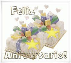 Lindos Mensagens de Aniversário com Bolos - ツ Imagens de Feliz Aniversário ツ