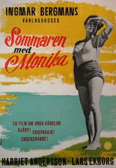 Summer with Monika (Ingmar Bergman, 1953) Swedish design