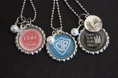 I am a Child of God Bottle Cap Necklace by IddyBiddyBlingJewels
