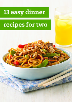 13 Easy Recipes For Two Looking For A Quick Pasta Dish For Two Or
