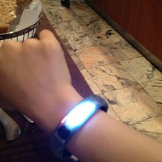 Finally got a fuelband. Now ready to run. Alas but too hot outside....
