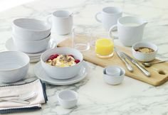 Our gorgeous Jme Rimple tableware range has been designed by British ceramicist Graham Jowitt just for Jamie at Home.