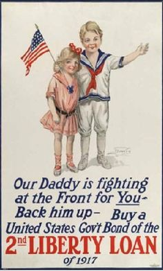 US war support poster