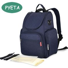 PYETA Free shipping! Functional Baby Diaper Backpack Mother Bag Baby Diaper Bag Nappy Bag Stroller Bag with Large Capacity