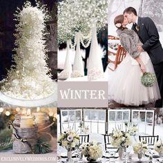 Winter Wedding | #exclusivelyweddings | #weddingcolors