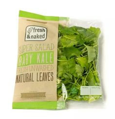 Baby kale, fresh & unwashed