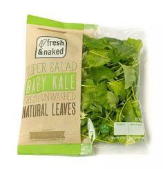 Baby kale, fresh & unwashed