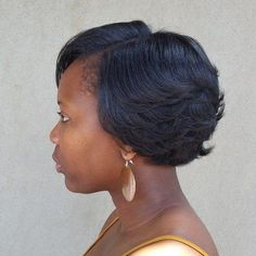 50 Most Captivating African American Short Hairstyles formal+short+hairstyle+for+black+women - Black Haircut Styles Short Hair With Layers, Short Hair Cuts For Women, Short Hairstyles For Women, Latest Hairstyles, Short Cuts, Edgy Hairstyles, Woman Hairstyles, Hairdos, Straight Hairstyles