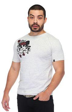 Camiseta Gola Redonda - Guns N Roses (http://santorock.com/p/camiseta-gola-redonda-santo-rock-guns-n-roses/)