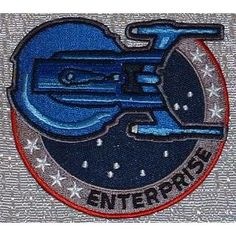 Star Trek Enterprise TV Series Uniform Shoulder PATCH