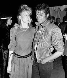 Michael Jackson & Olivia Newton John