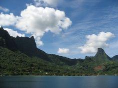 Island of Moorea, Tahiti, French Polynesia