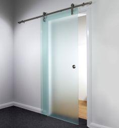Luxury bathroom sliding glass doors with aluminium round handle. The sliding door company?
