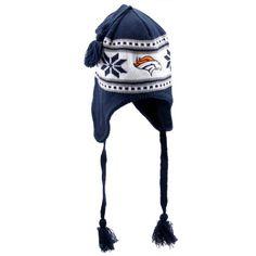 47 Brand Denver Broncos Ladies Wampatuck Knit Hat with Tassel - Navy Blue 393907910