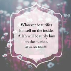 Allah will Beautify him.